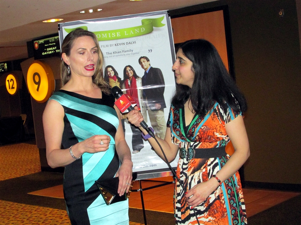 Promise Land 24 - Roopa interviewing Brenda Barrie, Photo Credit: Poonam Modha
