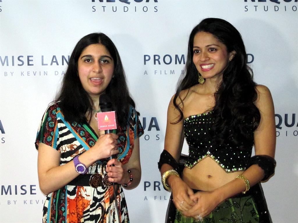 Promise Land 5 - Roopa interviewing Mouzam Makkar, Photo Credit: Poonam Modha