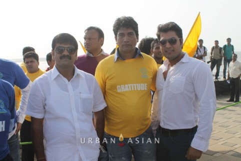 130921_162416Minister of state for housing Sachin Ahir Satish Reddy With Aankit Narayan At Peace Walk