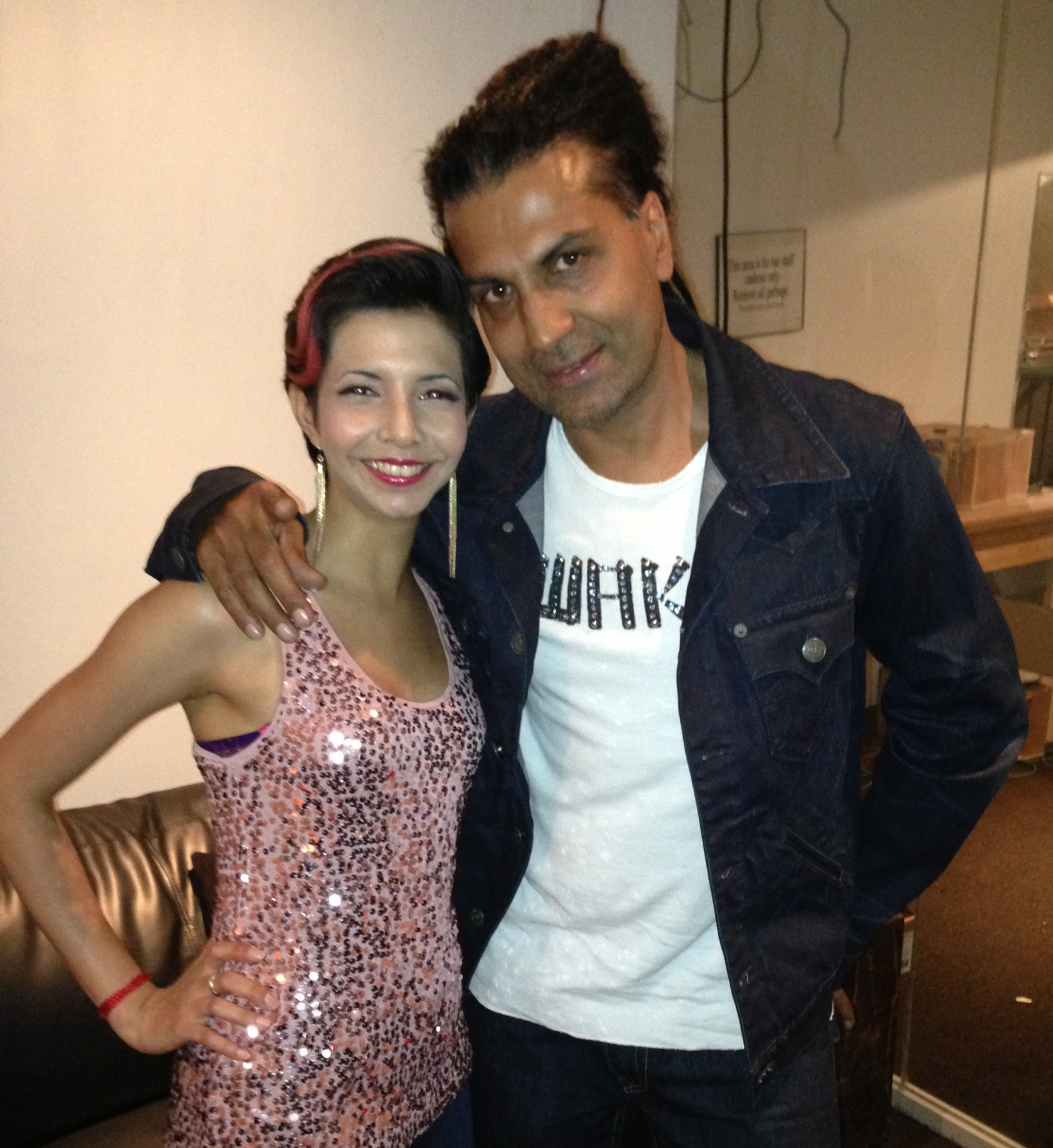Dilshad and Apache Indian