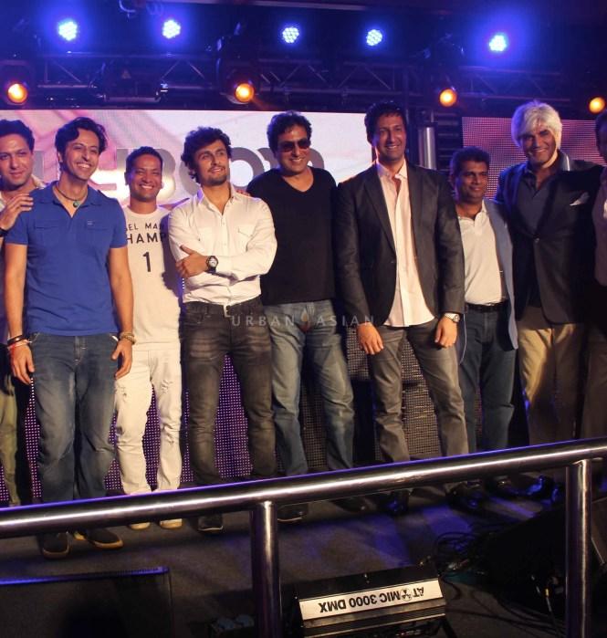 Salim DJ Llyod Sonu Nigam Talat Aziz Sulaiman Mohammaed Fasih And Harindra Singh At Party