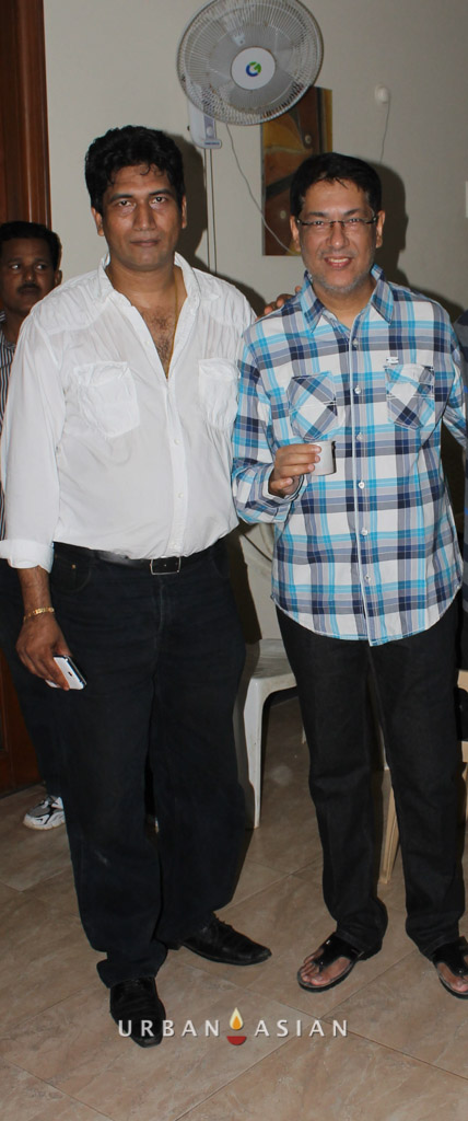 Satish Reddy With Taran Adarsh At Are We Safe Campaign