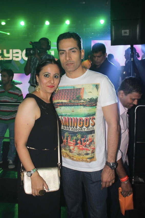 Sudhanshu Pandey With Friend At Party
