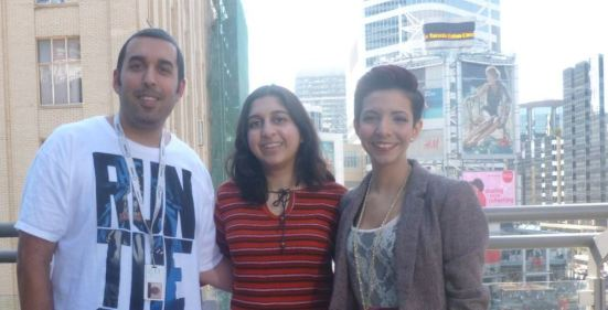 Raoul, Roopa, and Dilshad