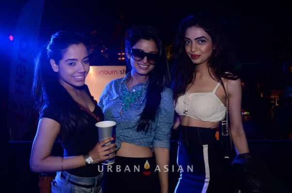 131125_081757Amandepp Sandhu Dimple Chawla and Chetna Pande At Party