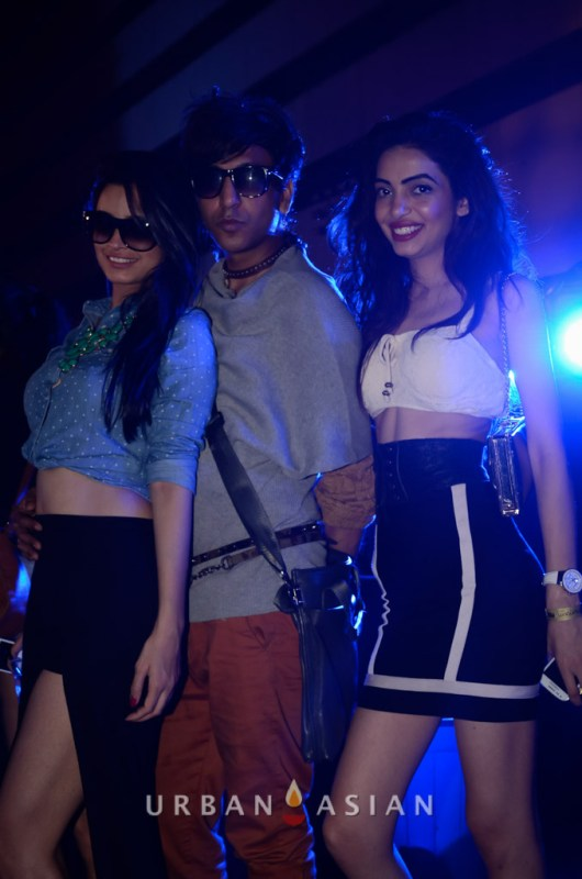 131125_084203Chetna Pande Rehan Shah and Dimple Chawla At Party
