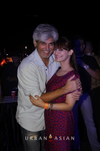 131206_070252Harindra Singh With Candy Brar At Party