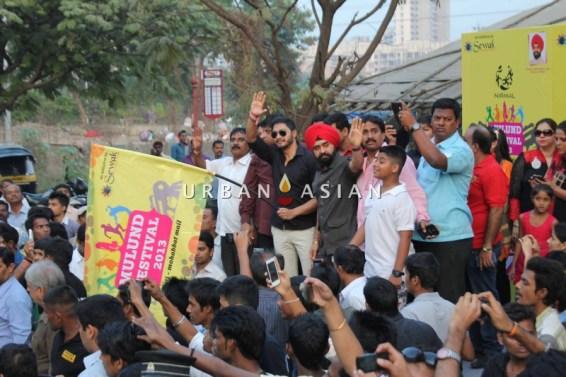 Shreyas Talpade Flag-off the Harley Davidson bike Rally With Charan Singh Sapra