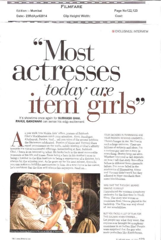 Kaanchi on Filmfare-6
