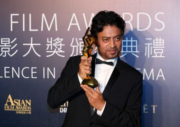 the asian awards, irrfan khan
