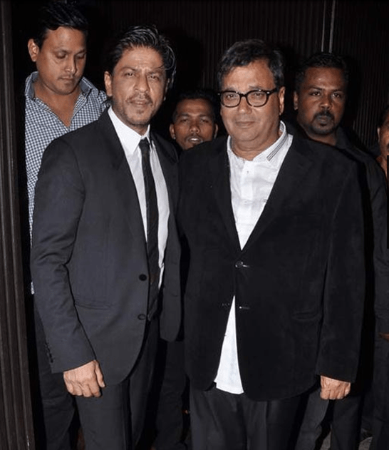 SRK and Subhash Ghai