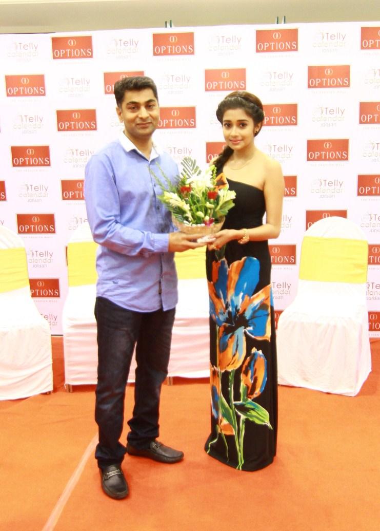Dharmesh Patel and Tina Dutta