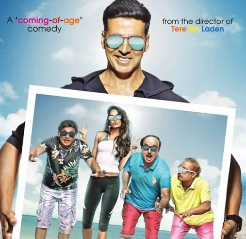 Akshay Kumar The Shaukeens Poster 1
