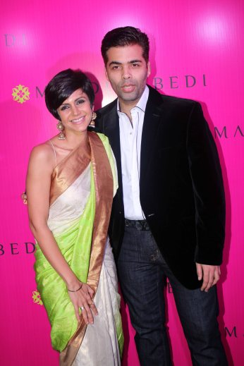 Karan Johar Inaugration of Store in Oct 2013