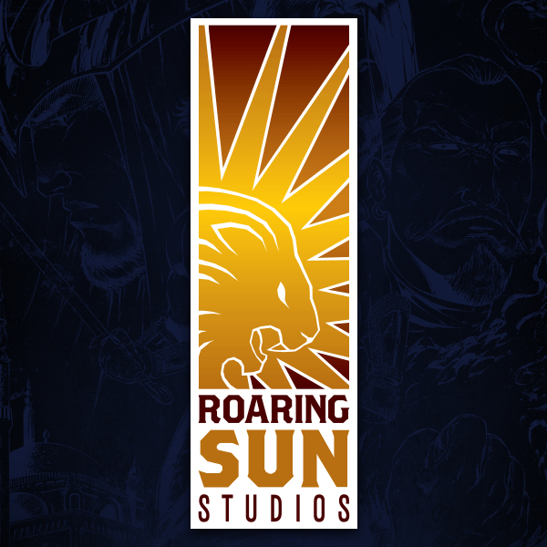 Roaring Sun Logo for comixology