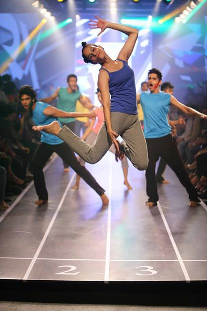 Sandip Soparrkar troups performing at Myntra fashion show14