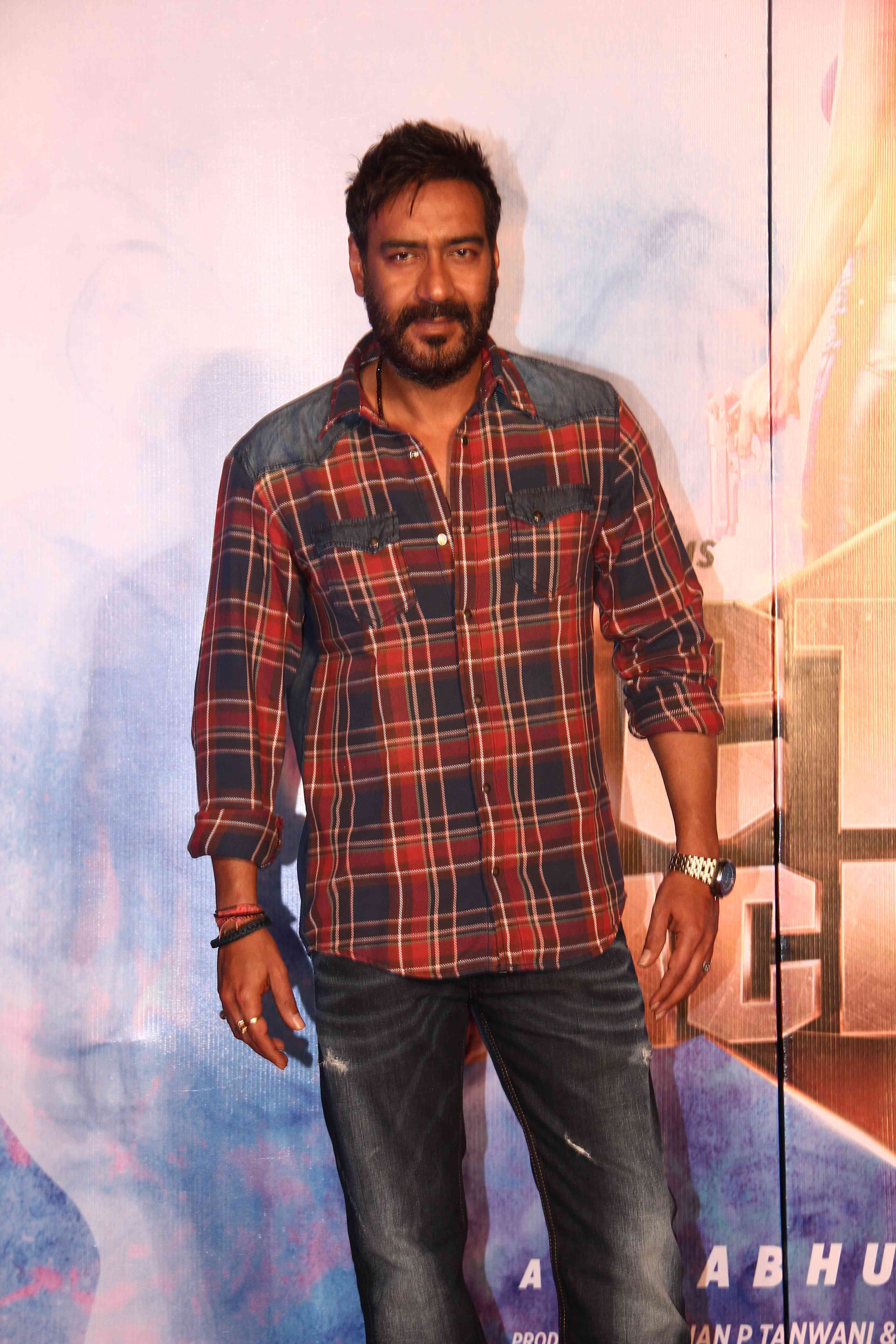 Ajay Devgn at the 'Gangster Baby' song Launch