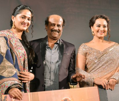 Anushka Shetty-Rajnikanth-Sonakshi Sinha - Copy