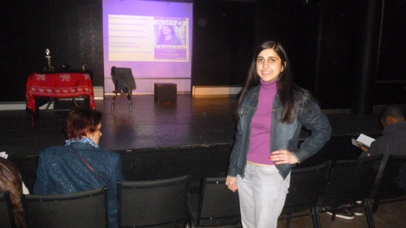 Roopa Modha at They Call Me Q