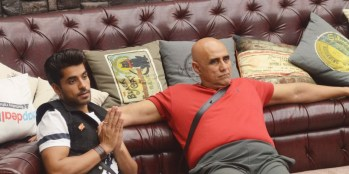 Puneet Issar with Gautam Gulati in Bigg Boss (Image Courtesy - Bigg Boss)