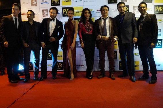 Saif Ali Khan, Ileana Dcruz, Krishika Lula, Govinda, Dinesh Vijan, Raj and DK