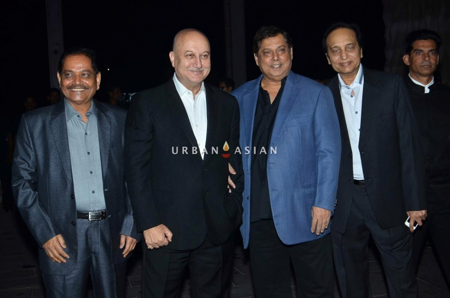 Anupam Kher and David Dhawan
