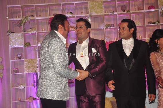 Jacky Shroff at at Uday Singh and Shirin recepetion Party1