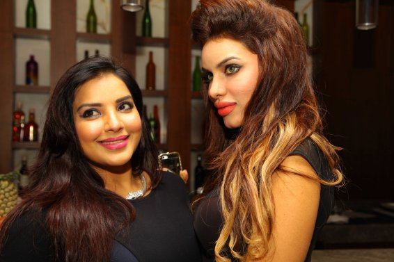 Mansi and Gizal at B'day Bash