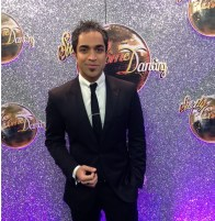 Navin Kundra at Strictly Come Dancing