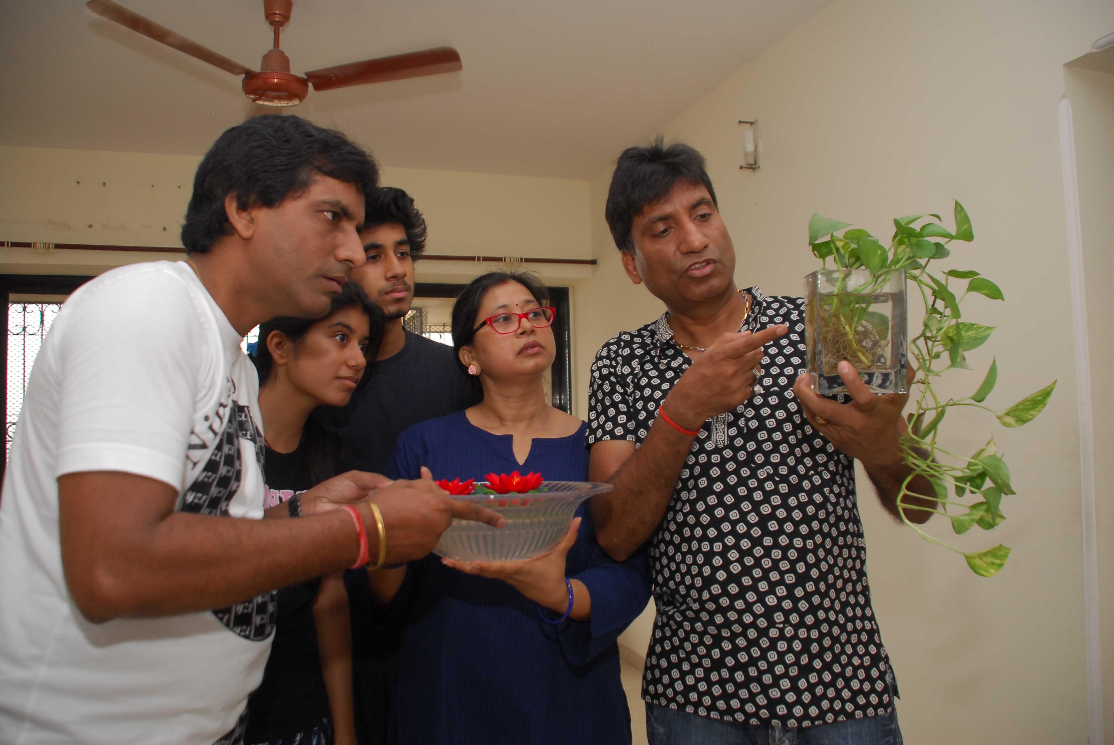 Raju Srivastav Clean Mumbai1