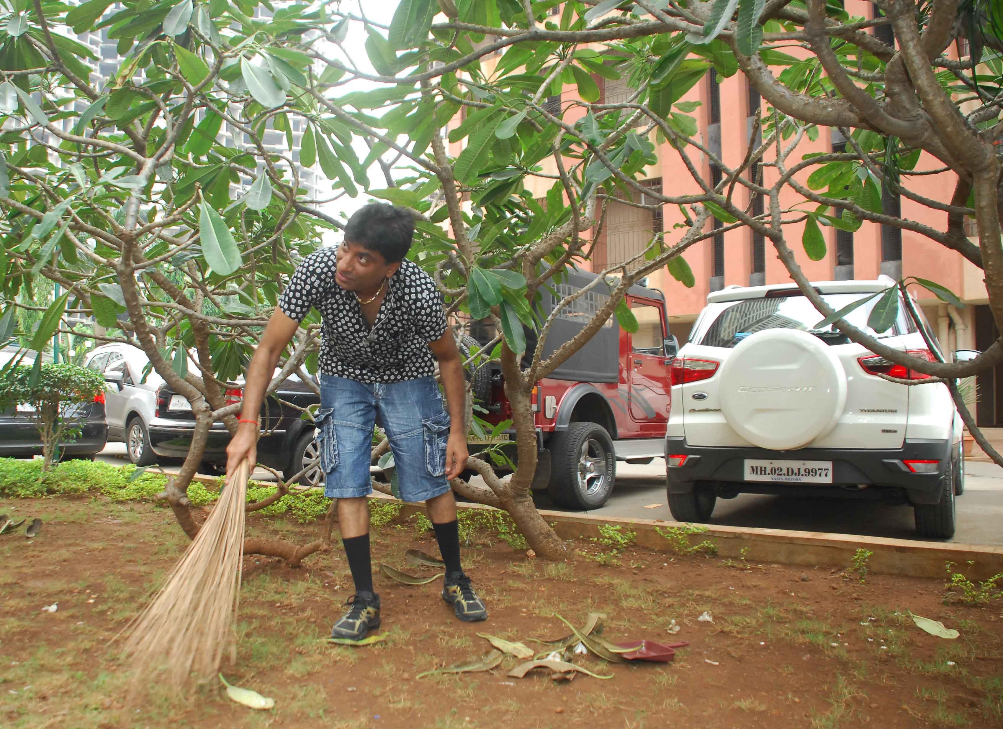 Raju Srivastav Clean Mumbai12