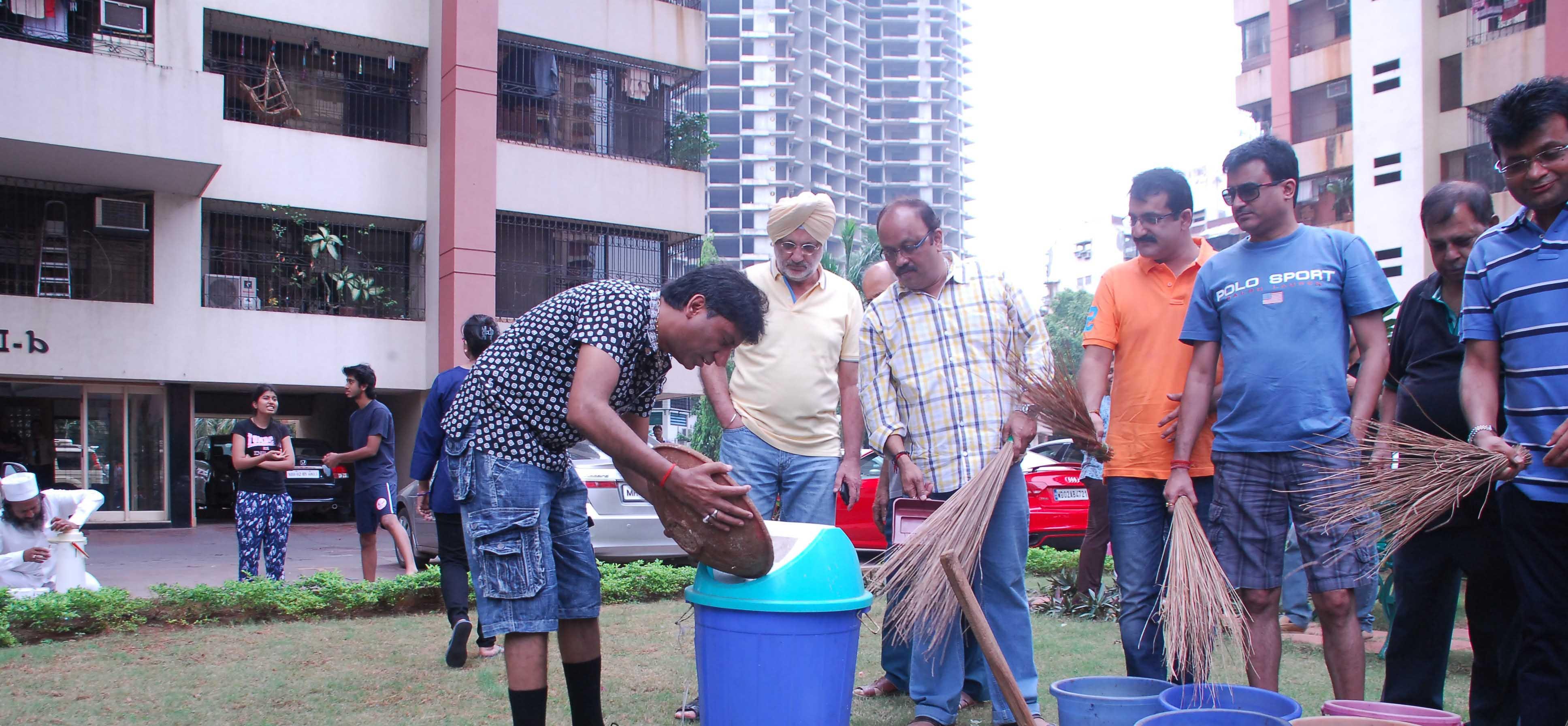 Raju Srivastav Clean Mumbai14