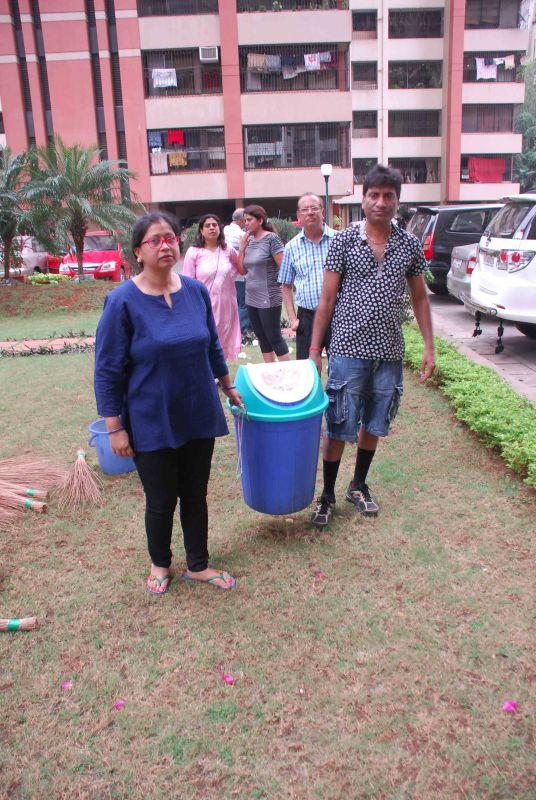 Raju Srivastav Clean Mumbai5