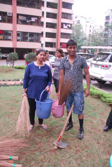 Raju Srivastav Clean Mumbai7