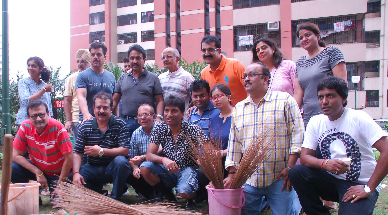 Raju Srivastav Clean Mumbai9
