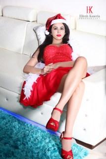 Shobhita Rana Sexy Santa