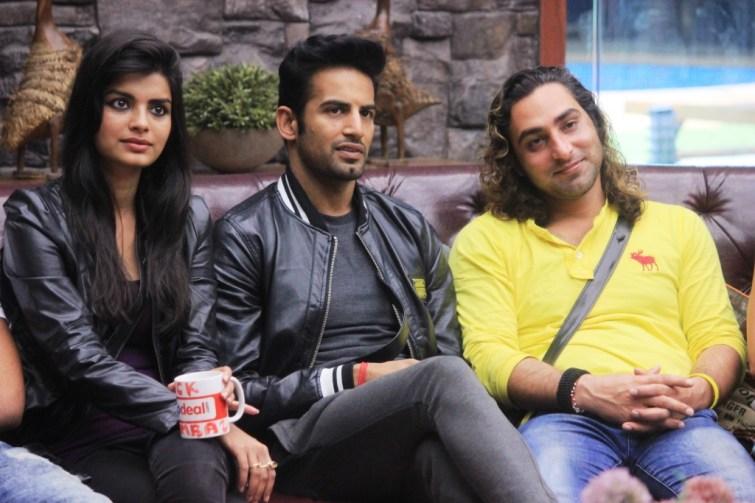 Sonali Raut, Upen Patel and Praneet Bhatt on Bigg Boss