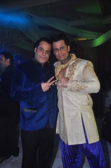 Uday Singh with Vikram SIngh