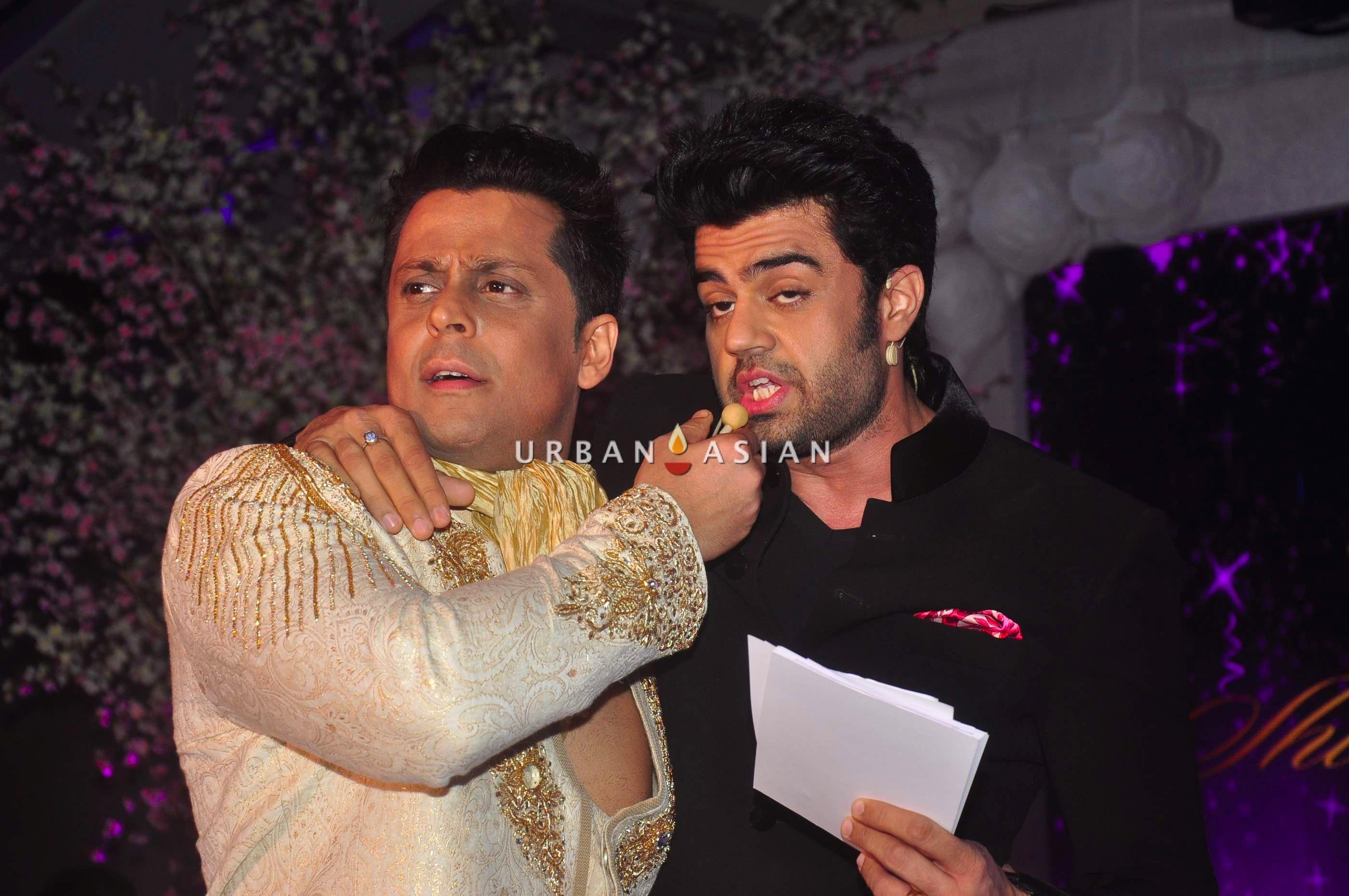 Vikram Singh and Manish Paul2