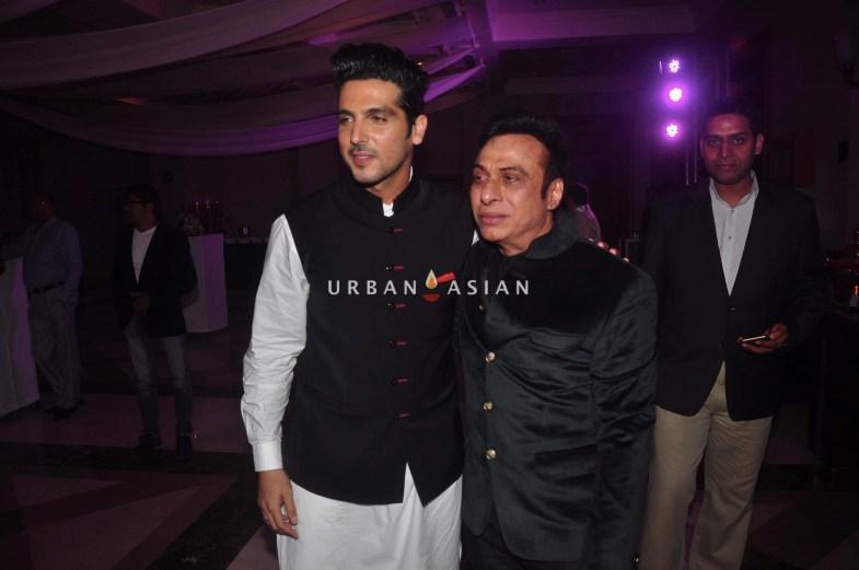 Zayed Khan and Ali Morani
