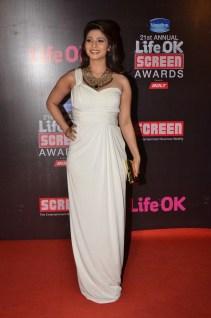 09-Tanishaa Mukerji At Red Carpet For Screen Awards