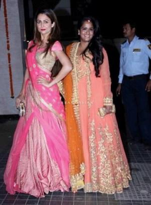 Amrita Arora and Arpita Khan