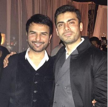 Ather Shahzad and Fawad Khan