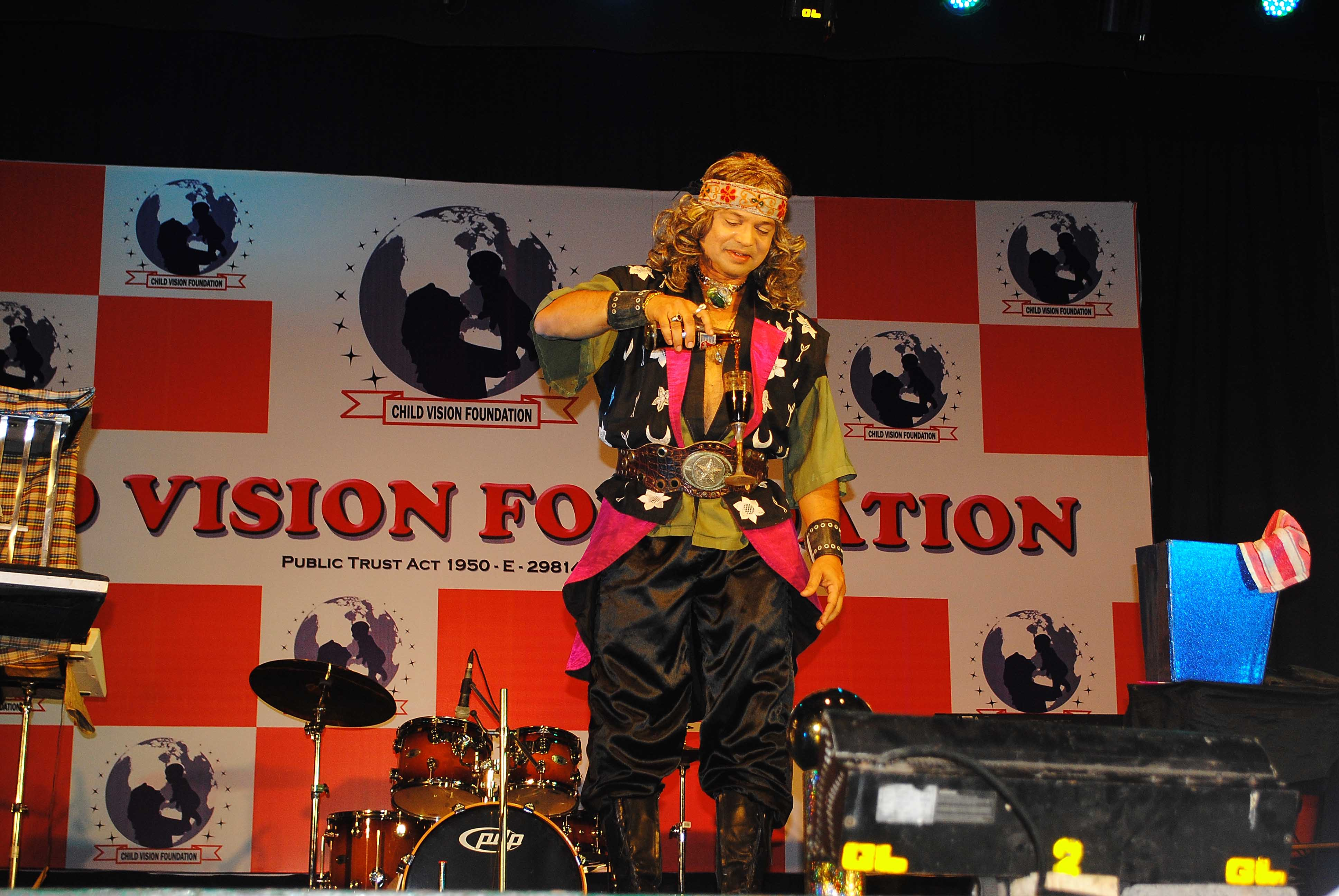 Magician Atul Patil At Child Vision Fondation