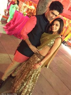 Manish and Ambika