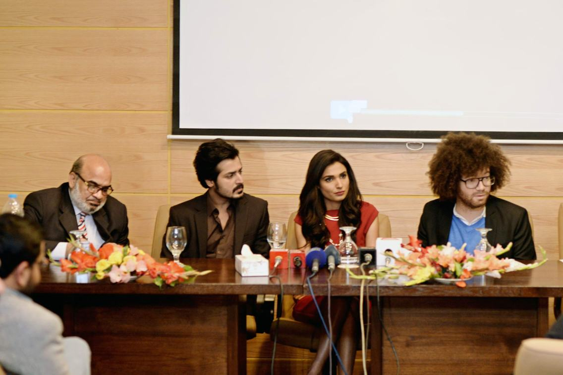 Press Conference - Naveed Mehmood, Kamran Faiq, Amna Ilyas, Michael Hudson (2)