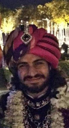 The handsome Rajat Tokas