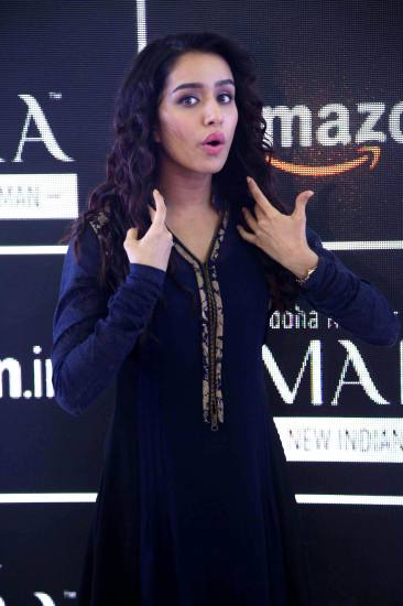 Shraddha Kapoor at the launch of Imara