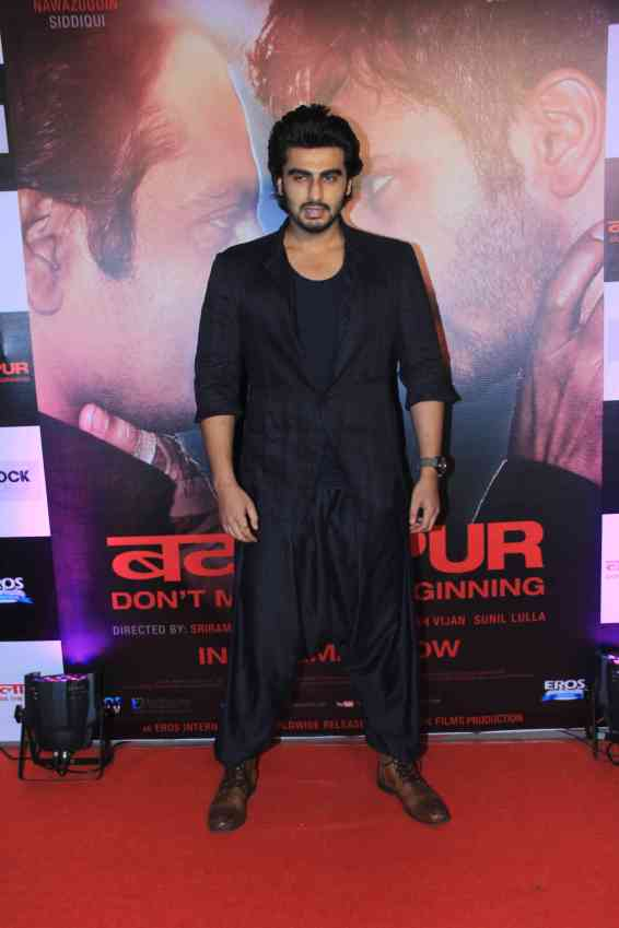 Arjun Kapoor at the success bash of Badlapur at sofitel bandra (15)