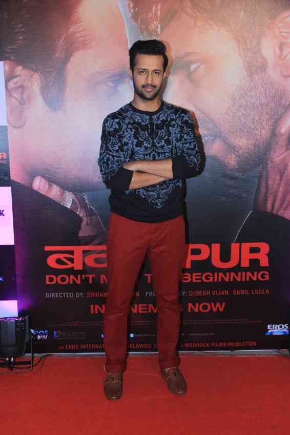Atif Aslam at the success bash of Badlapur at sofitel bandra (31)